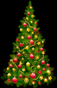 Large_Transparent_Christmas_Tree_with_Ornaments_Clipart