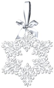 White_Snowflake_Christmas_Ornament_PNG_Clipart